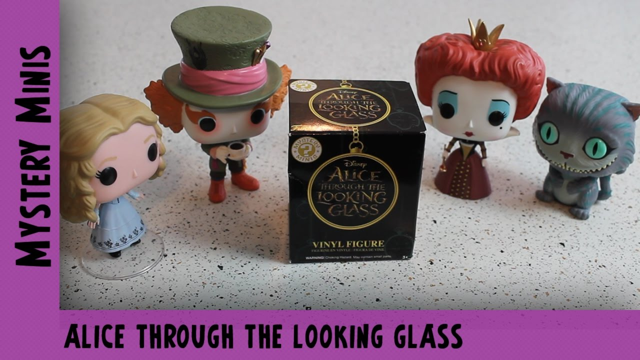Alice Through the Looking Glass Funko Mystery Mini Unboxing | Adults Like Toys Too