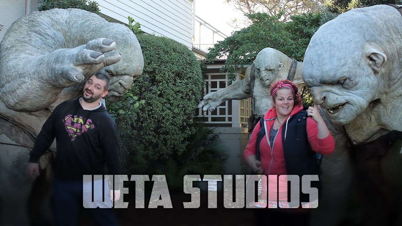 Visiting Gollum at Weta Studios | Vlog