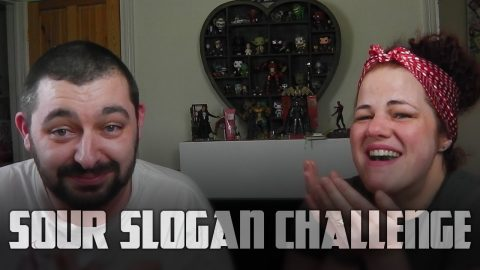 Warheads Sour Slogan Challenge | Vlog