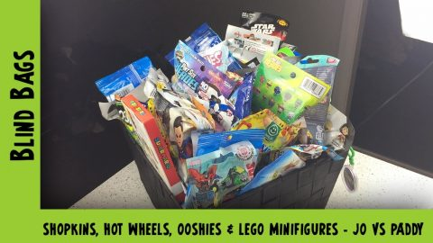 Shopkins, Hot Wheels, Ooshies & Lego Minifigures Blind Bag Opening | Adults Like Toys Too