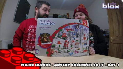 Wilko Blox Advent Calendar - Day #1 | Adults Like Toys Too