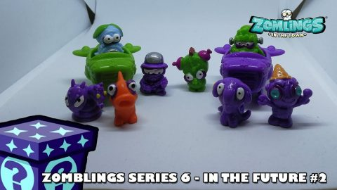 Zomlings in the Future!! | Adults Like Toys Too