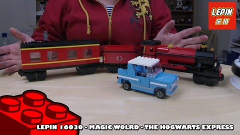 Bootlego: Lepin 16030 - Harry Potter - The Hogwarts Express - Timelapse | Adults Like Toys Too