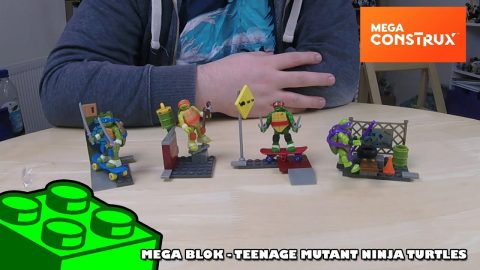 Mega Bloks: Teenage Mutant Ninja Turtles Sets - Timelapse | Mega Bloks Build | Adults Like Toys Too