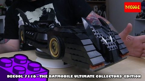 Bootlego: Decool 7116 - The Batmobile Ultimate Collectors Edition Timelapse | Adults Like Toys Too