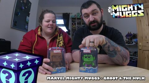 Hasbro Mighty Muggs - Hulk & Groot - Series 2 | Adults Like Toys Too
