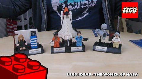 Lego Ideas - Women of NASA - Timelapse | Lego Build | Adults Like Toys Too