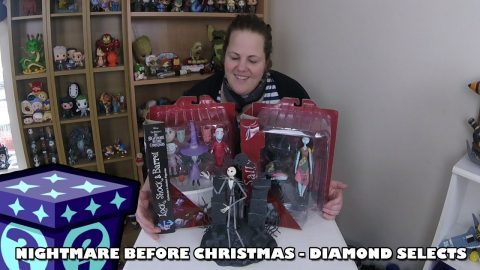 Nightmare Before Christmas Diamond Selects | Adults Like Toys Too