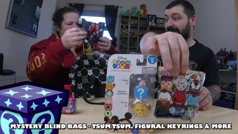 Tsum Tsums, Figural Keyrings & More - Mystery Blind Bags #40 | Adults Like Toys Too