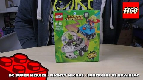 DC Super Heroes Mighty Micros - Supergirl vs Brainiac - Review | Lego Build | Adults Like Toys Too