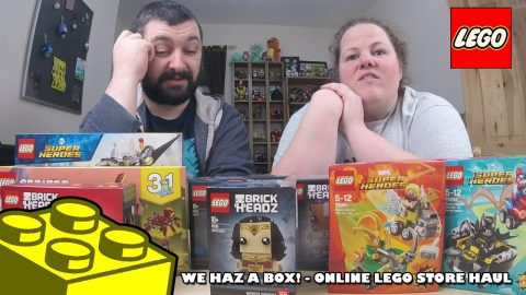 We Haz A Box! Online LEGO Store Haul | Adults Like Toys Too