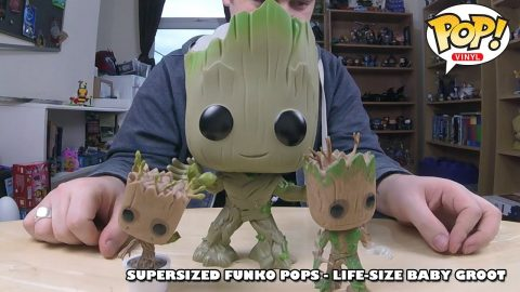 Life-Sized Baby Groot - Super Sized Funko Pop! | Adults Like Toys Too