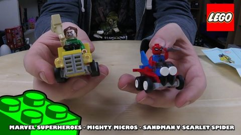 Marvel Mighty Micros Sandman v Scarlet Spider - Timelapse | Lego Build | Adults Like Toys Too