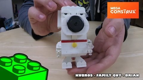 Mega Construx Kubros: Family Guy - Brian Timelapse | Mega Bloks Build | Adults Like Toys Too