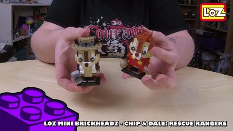 Bootlego: LOZ Mini Brickheadz - Chip & Dale - Timelapse | Adults Like Toys Too