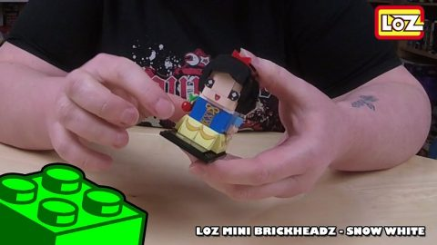 Bootlego: LOZ Mini Brickheadz - Disney Princess Snow White - Timelapse | Adults Like Toys Too