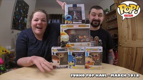Our March Funko Pop Haul! | Adults Like Toys Too