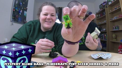 Exploding Creepers, Pint Sized Heroes & More - Mystery Blind Bags #49 | Adults Like Toys Too
