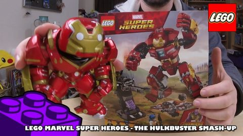 Marvel Super Heroes - The Hulkbuster Smash-up - Timelapse | Lego Build | Adults Like Toys Too