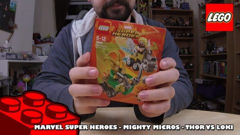 Marvel Mighty Micros Thor vs Loki - Review | Lego Build | Adults Like Toys Too