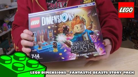 Lego Dimensions - Fantastic Beast Story Pack - Timelapse | Lego Build | Adults Like Toys Too
