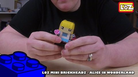 Bootlego: LOZ Mini Brickheadz - Disneys Alice In Wonderland - Timelapse | Adults Like Toys Too