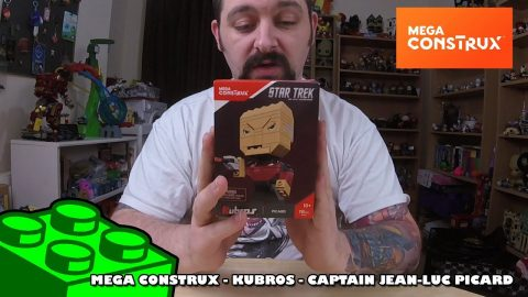 Mega Construx Kubros: Star Trek - Captain Picard Timelapse | Mega Bloks Build | Adults Like Toys Too