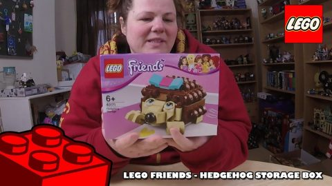 Lego Friends - Hedgehog Storage Box - Timelapse | Lego Build | Adults Like Toys Too