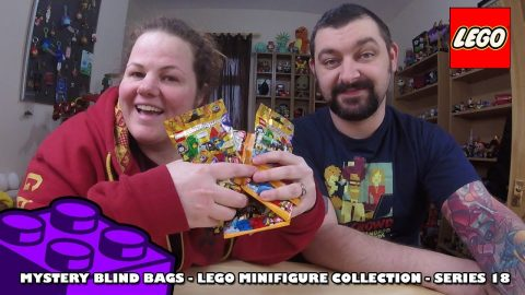 Lego MiniFigures Collection Series 18 Blind Bag Opening | Adults Like Toys Too