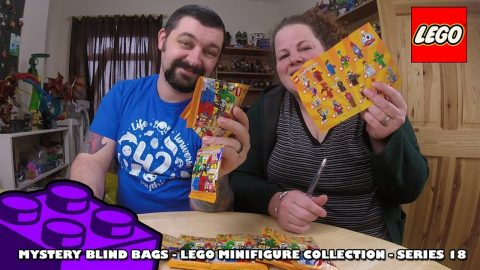 More Lego MiniFigures Collection Series 18 Blind Bag Opening | Adults Like Toys Too