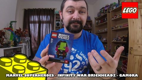 Lego Marvel Infinity War Brickheadz - Gamora - Review | Lego Build |