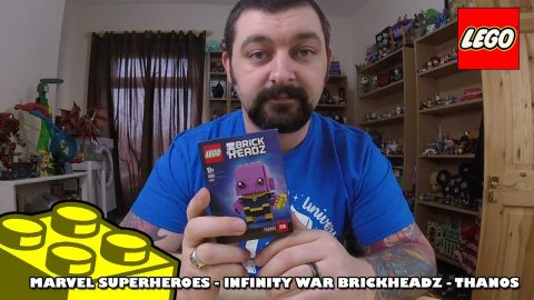 Lego Marvel Infinity War Brickheadz - Thanos - Review | Lego Build |
