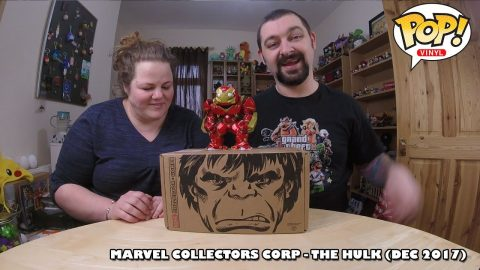 Marvel Collectors Corp - The Hulk Funko Unboxing