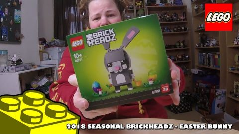 2018 Seasonal Brickheadz - The Easter Bunny - Review | Lego Build | Adults Like Toys Too