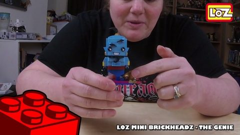 Bootlego: LOZ Mini Brickheadz - Disneys Aladdin - The Genie - Timelapse | Adults Like Toys Too