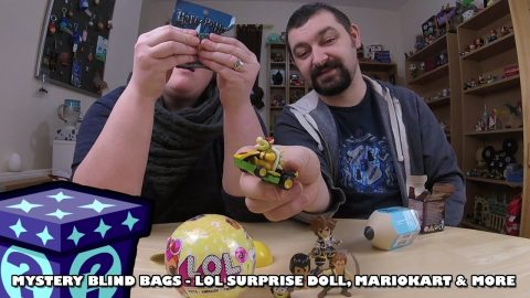 LOL Surprise Dolls, Mario Kart & More - Mystery Blind Bags #54 | Adults Like Toys Too