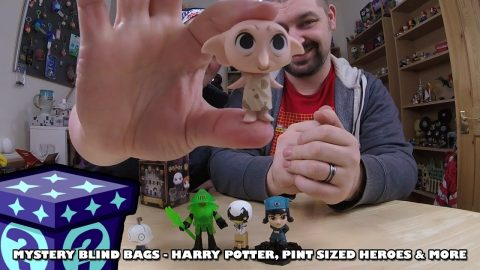 Harry Potter, Spiderman Pint-Sized Heroes & More - Mystery Blind Bags #58 | Adults Like Toys Too