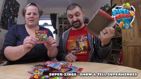 SuperZings - Show & Tell SuperHeroes | Adults Like Toys Too