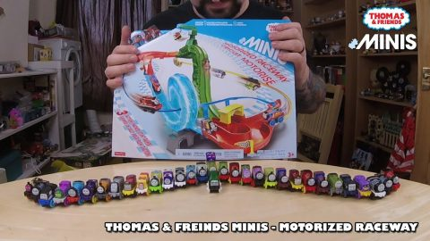 Thomas & Friends Minis - Motorised Raceway | Adults Like Toys Too