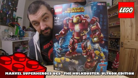Marvel Superheroes UCS - The Hulkbuster: Ultron Edition - Timelapse | Lego Build