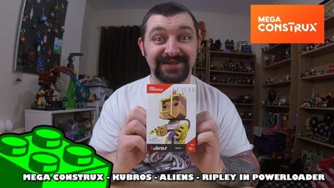 Mega Construx Kubros: Aliens - Ripley In Powerloader Review | Mega Bloks Build |
