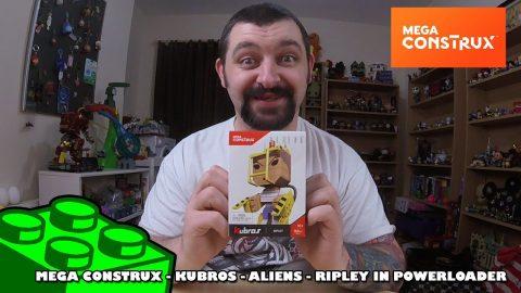 Mega Construx Kubros: Aliens - Ripley In Powerloader Review | Mega Bloks Build |