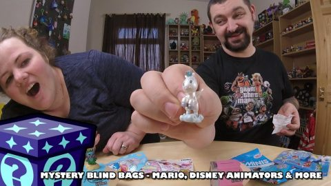 Mario Hangers, Disney Animators & More - Mystery Blind Bags #62