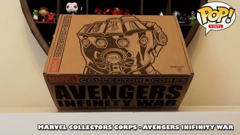 Marvel Collectors Corps - Avengers Infinity War Unboxing
