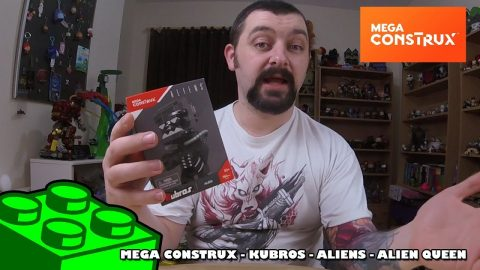 Mega Construx Kubros: Aliens - Alien Queen Review | Mega Bloks Build |