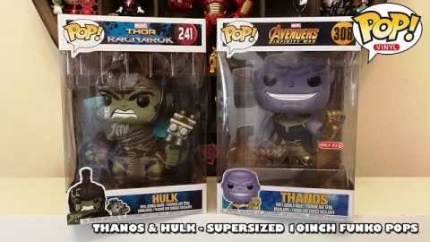 Thanos & Hulk Supersized 10Inch Funko Pops Unboxing