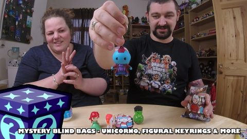 Unicorno's, Figural Keyrings & More - Mystery Blind Bags #61
