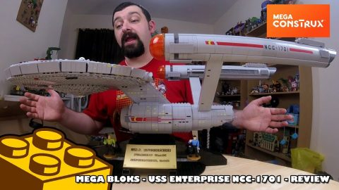 Mega Bloks - USS Enterprise NCC-1701 Collectors Edition Review