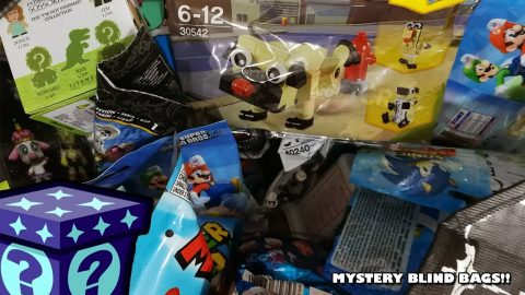 Mario Backpack Hangers, Edward Scissorhands Titan Minis & More - Mystery Blind Bags #76