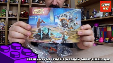 Bootlego: LEPIN #07105 - Thor's Weapon Quest - Timelapse